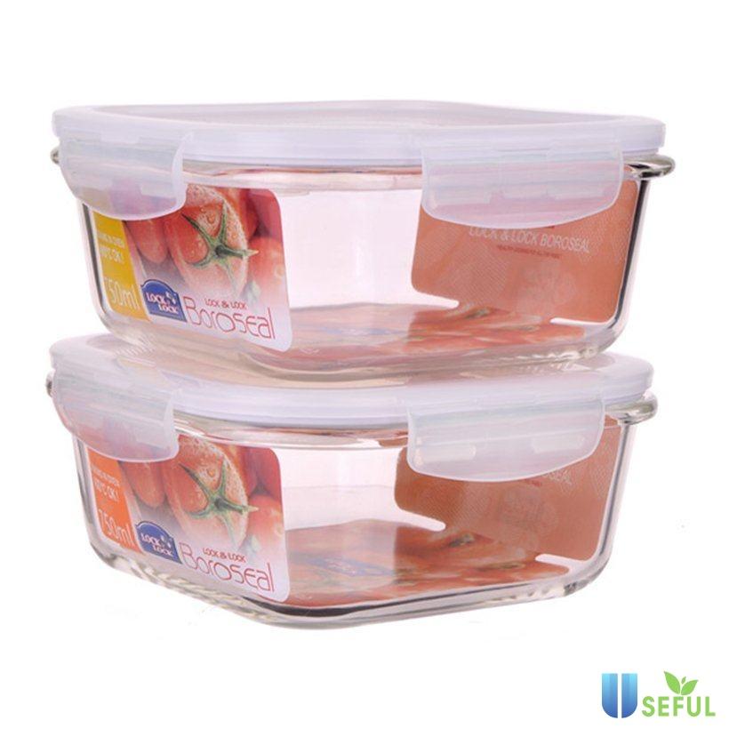 Nắp đậy hộp Lock and Lock kín giúp giữ đồ ăn tốt hơn