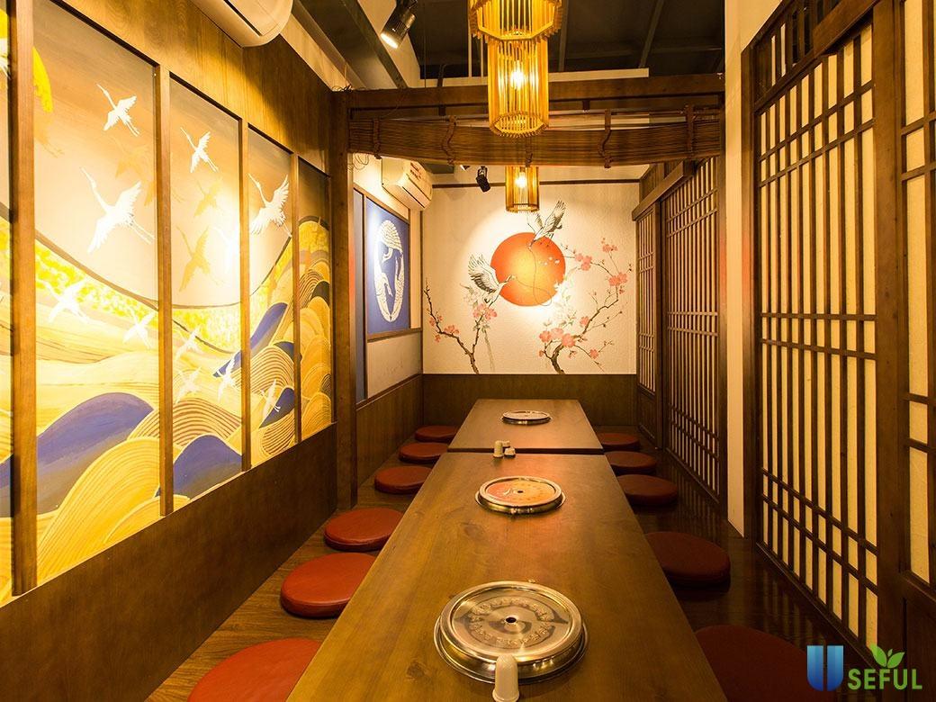 Không gian đậm chất Nhật của Anrakutei