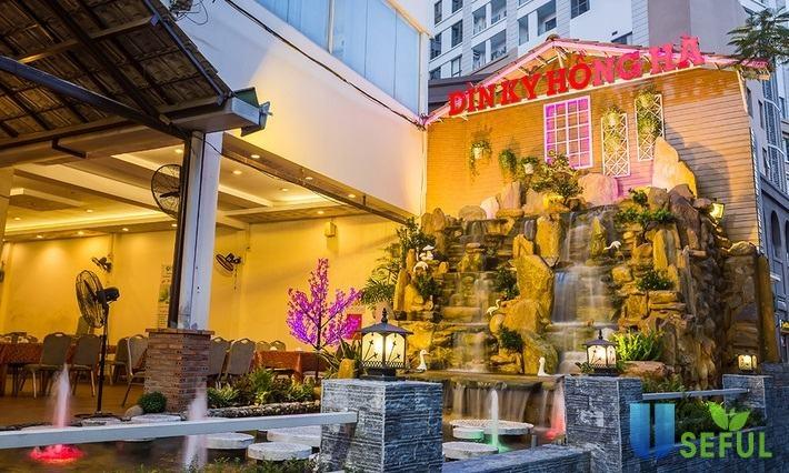 Nhà hàng Dìn Ký Hồng Hà phục vụ buffet trưa mỗi ngày