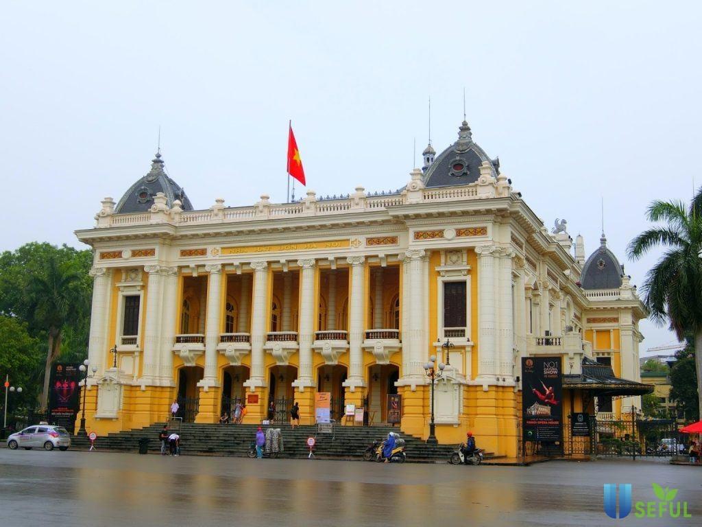Nhà Hát Lớn Hà Nội là một địa điểm tham quan nghệ thuật được yêu thích