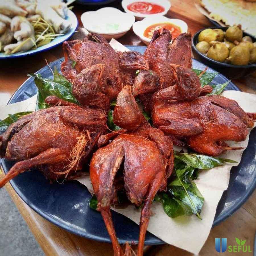 Chim nướng Tạ Hiện