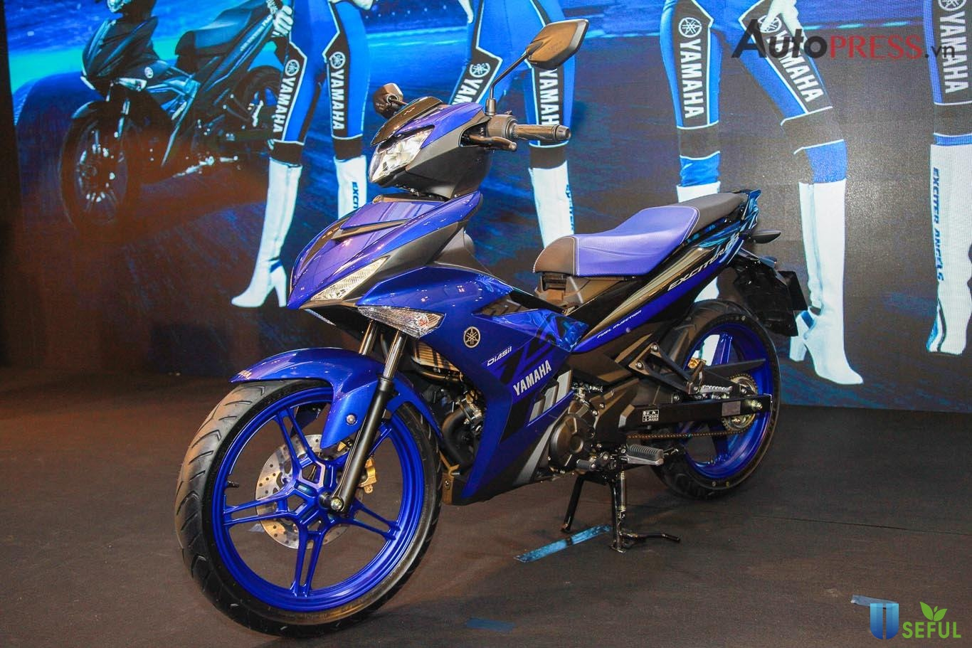 Yamaha côn tay thiết kế gọn gàng, thể thao