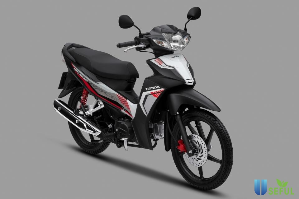 Honda Blade sở hữu thiết kế gọn gàng
