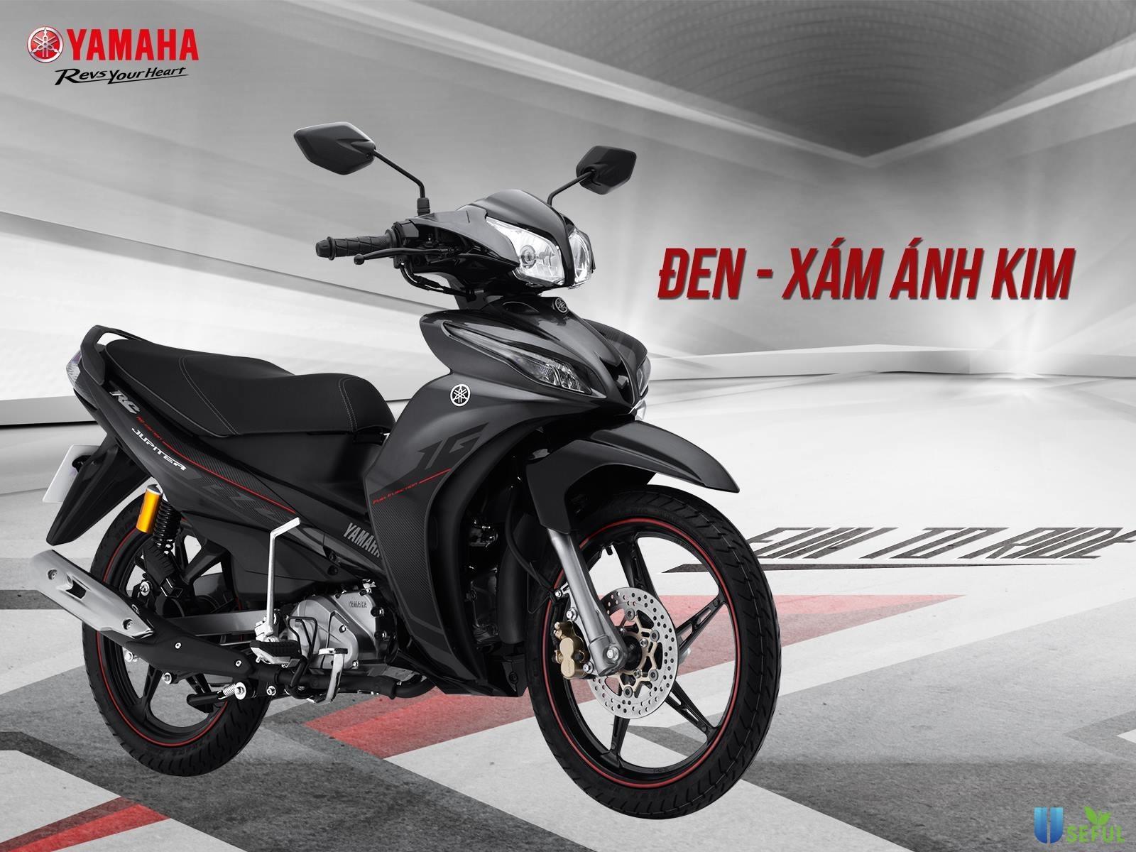 Yamaha Jupiter động cơ mạnh mẻ, tiết kiệm nhiên liệu