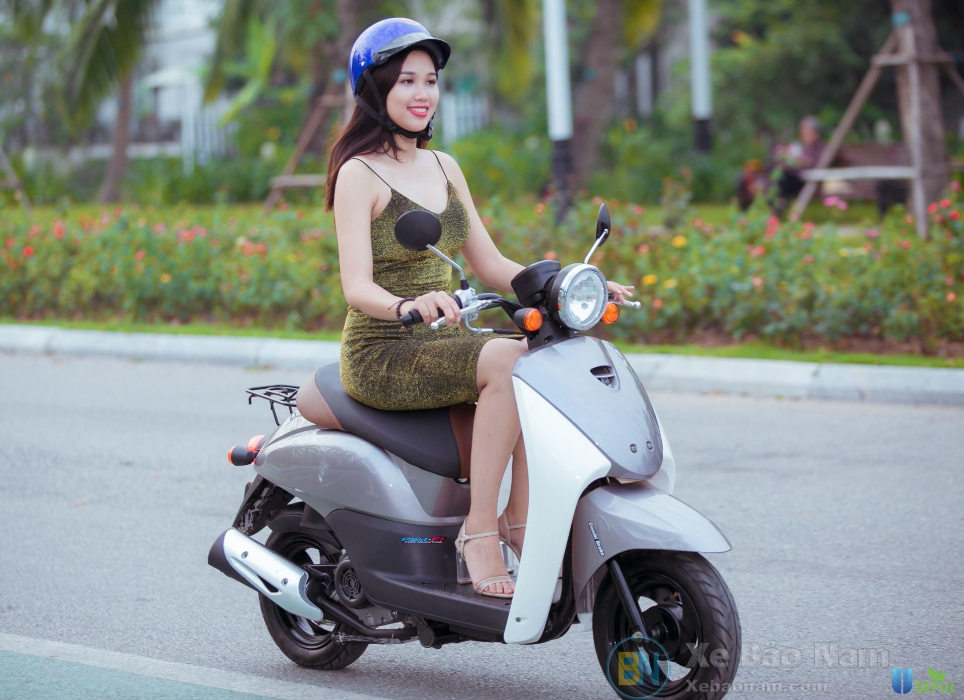 Xe ga 50cc Today nhỏ nhắn với phong cách thiết kế cổ điển