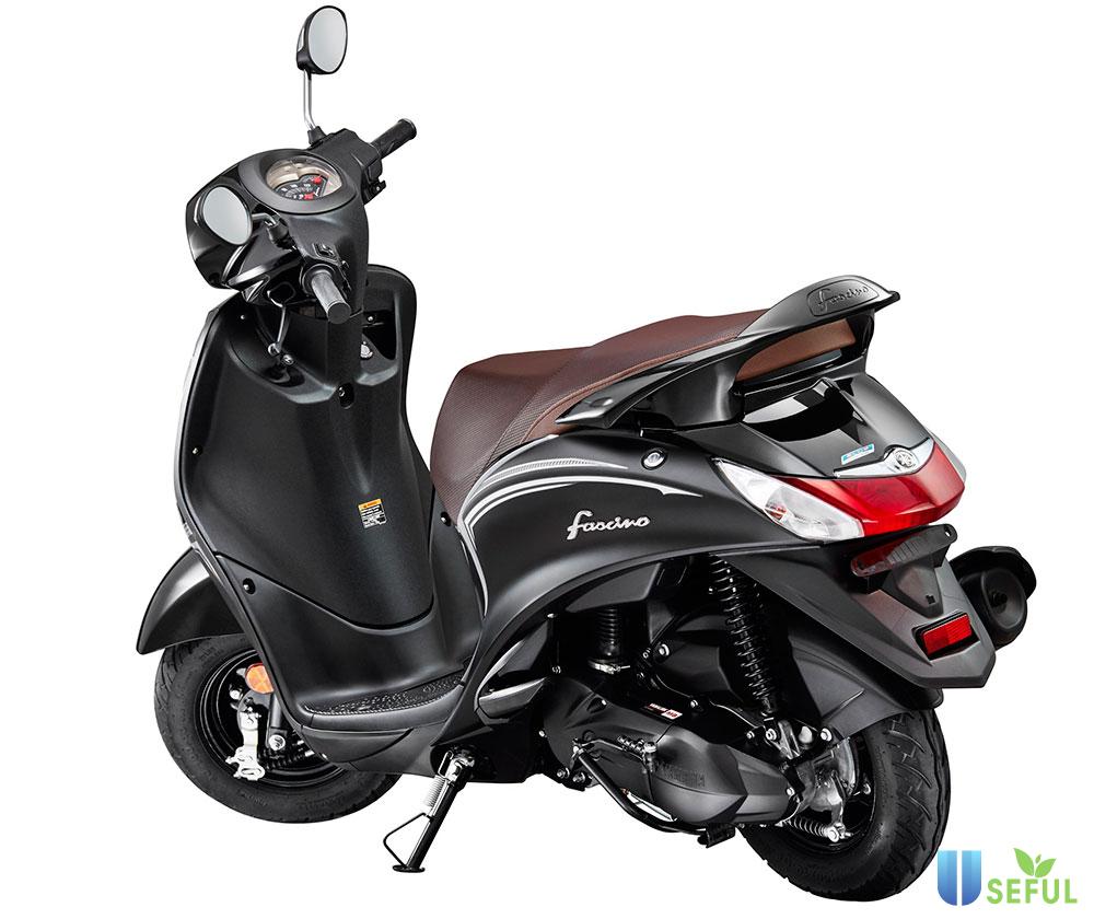 Yamaha Fascino Darknight Edition 2021