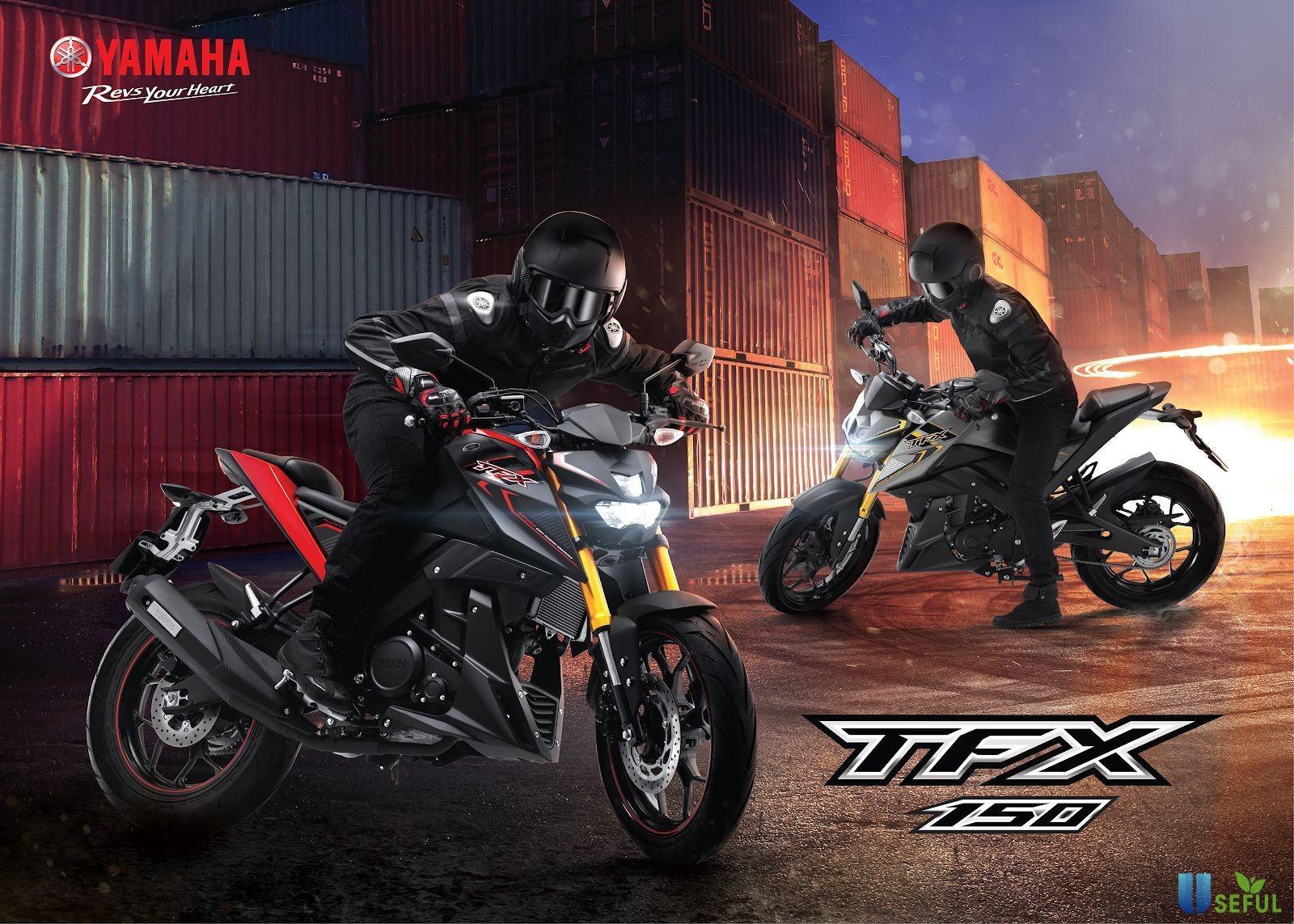 Yamaha TFX 150 phiên bản 2021 sở hữu thiết kế mạnh mẽ, cá tính và năng động