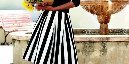 Mix & match cùng họa tiết kẻ sọc – Xu hướng thời trang2020