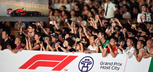 Giá vé giải đua xe F1 Việt Nam từ 1750k tới 9090k có những ưu đãi gì