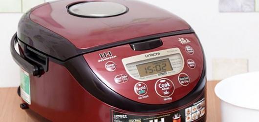 5 nồi cơm điện cao tần Hitachi Nhật Bản hiện đại nấu cơm ngon mềm dẻo