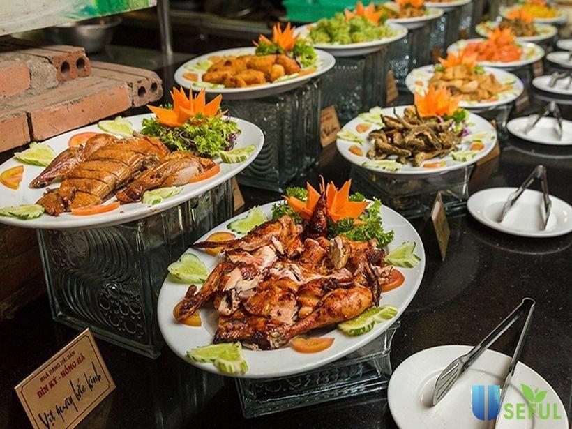 Các mónbuffet hải sản ngon TP. HCMđược bày trí chỉnh chu. (Nguồn:Useful.com)