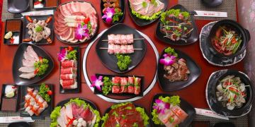 Buffet lẩu Nhật ngon không cưỡng lại được