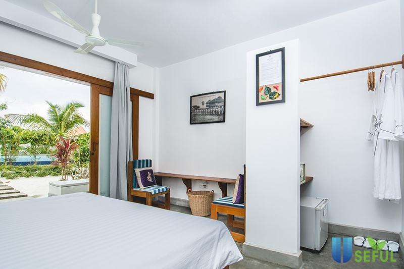 Resort đẹp và đầy đủ tiện khi tại Koh Rong