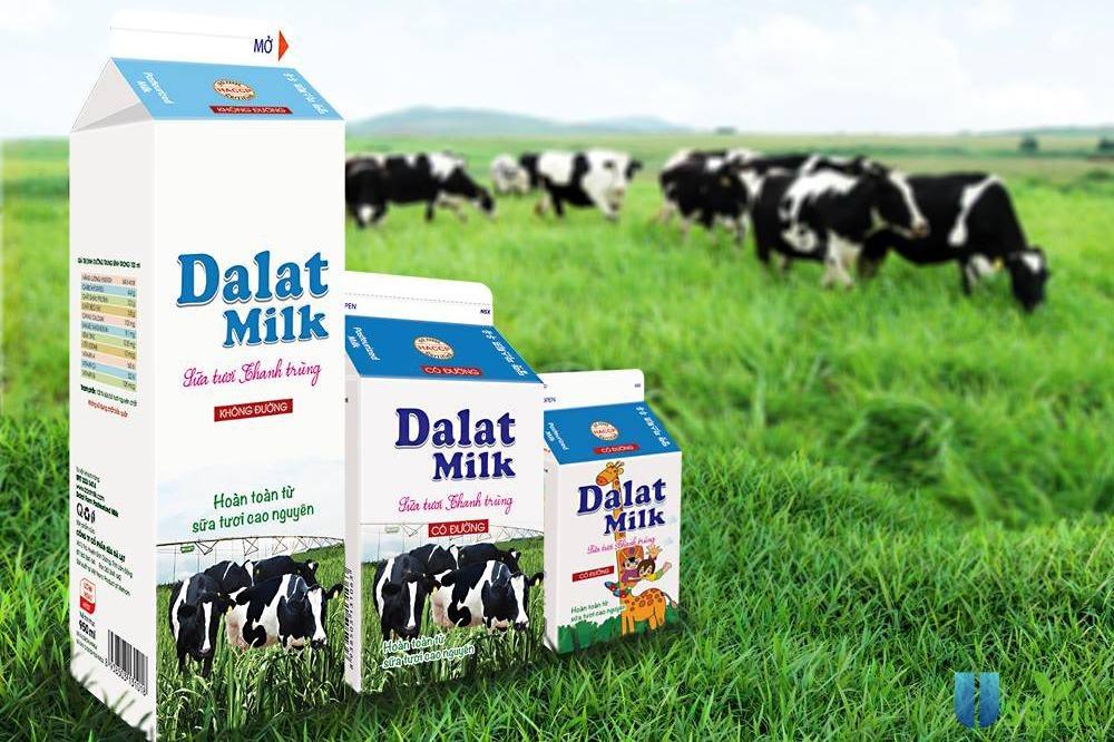 Sữa tươi Dalat milk