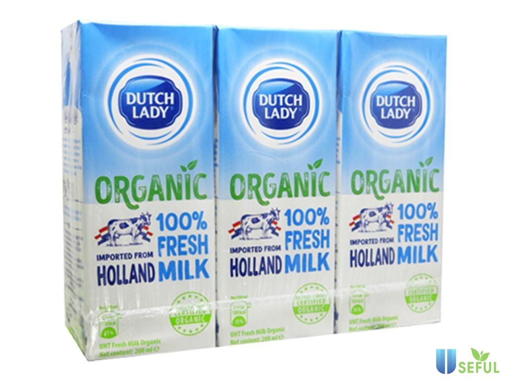 Sữa tươi cô gái Hà Lan Dutch Lady 100%