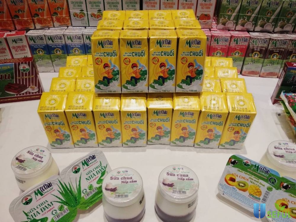 Sữa tươi Mộc Châu