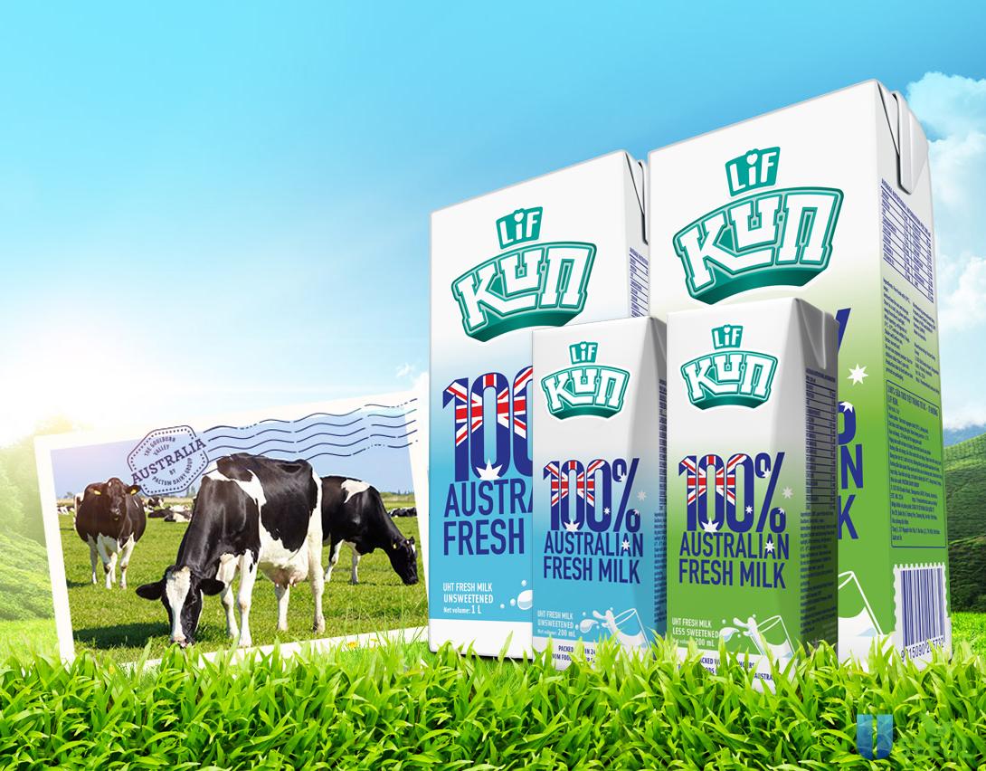 Sữa tươi Love'in Farm (LIF)