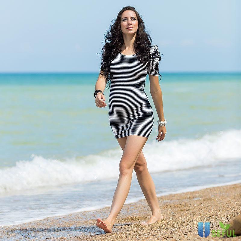 Ảnh minh hoạ vận động nhẹ nhàng có lợi cho việc giảm cân sau sinh