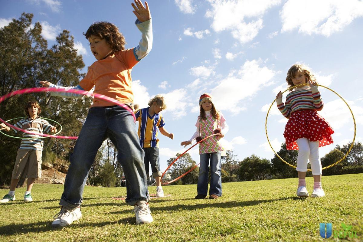 Thể chất khỏe mạnh giúp trẻ tự do khám phá
