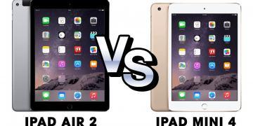 So sánh 2 dòng iPad Mini 4 hay iPad Air 2 để đưa ra lựa chọn phù hợp