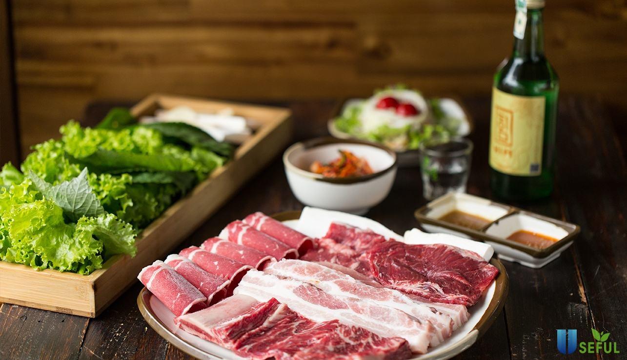 Tại Gogi House, các món ăn đều được tẩm ướp bằng nước sốt đặc trưng
