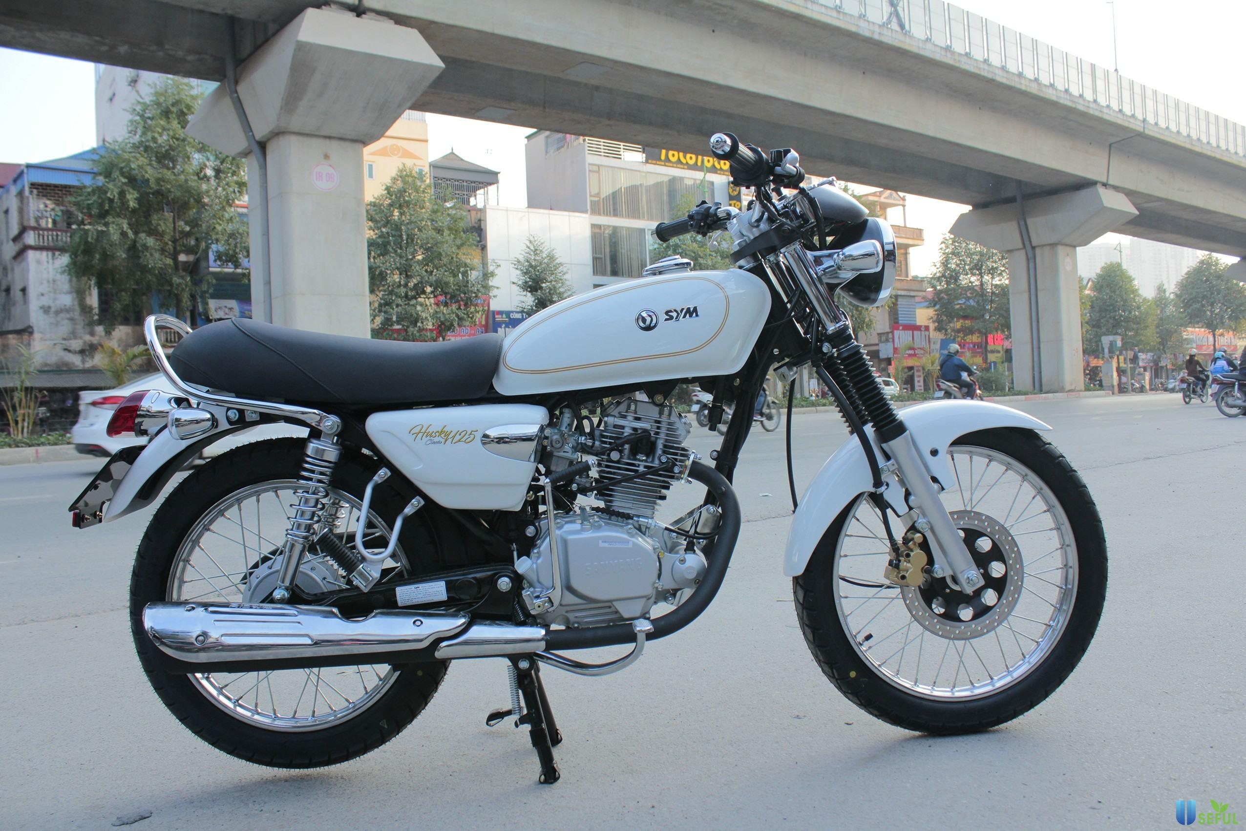 Xe mô tô SYM Husky Classic 125