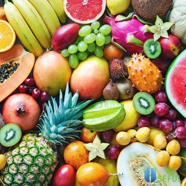 Trái cây, ngũ cốc cũng là thực phẩm thiết yếu để chăm sóc sức khỏe túi thai mẹ bầu