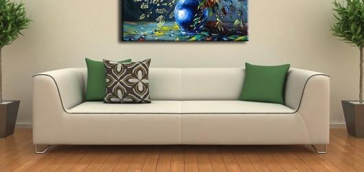 Tranh Canvas trang trí cho không gian nội thất nhà ở