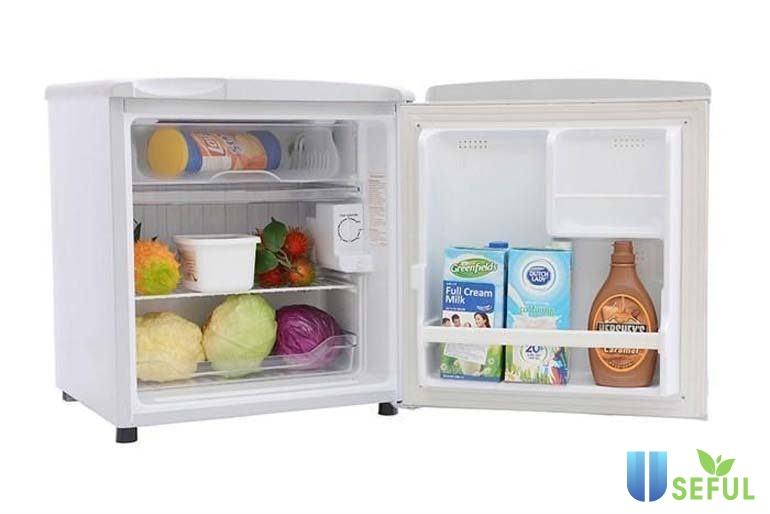 Loại tủ lạnh nhỏ 50-70l thường chỉ phù hợp cho người sống một mình