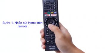 Hướng dẫn chi tiết cách kết nối wifi cho tivi Sony Bravia