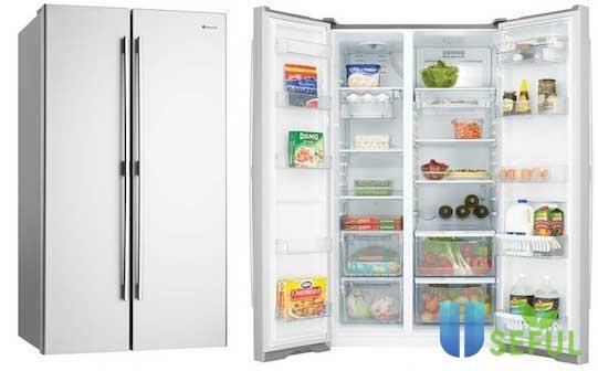Tủ lạnh nhập khẩu với nhiều tính năng hiện đại giữ thực phẩm luôn tươi ngon.