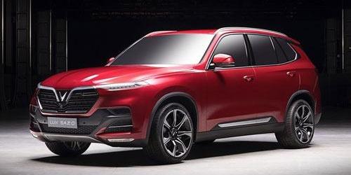 Giá xe VinFast SUV LUX SA2.0 cập nhật 2021 kèm khuyến mãi ưu đãi