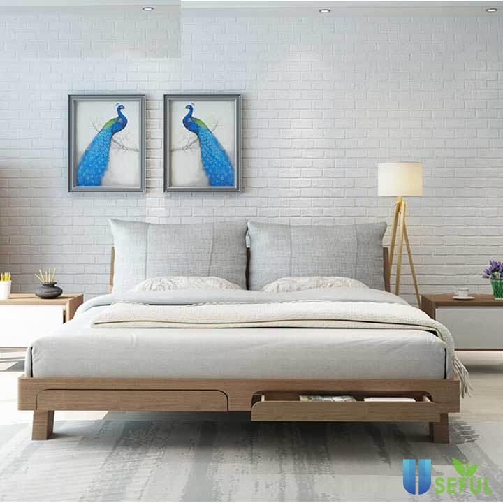 Mặc dù chi phí của giường gỗ cao hơn các loại giường khác nhưng nêu đủ điều kiện bạn nên chọn giường gỗ để tăng thêm phần sang trọng cho căn phòng ngủ mình