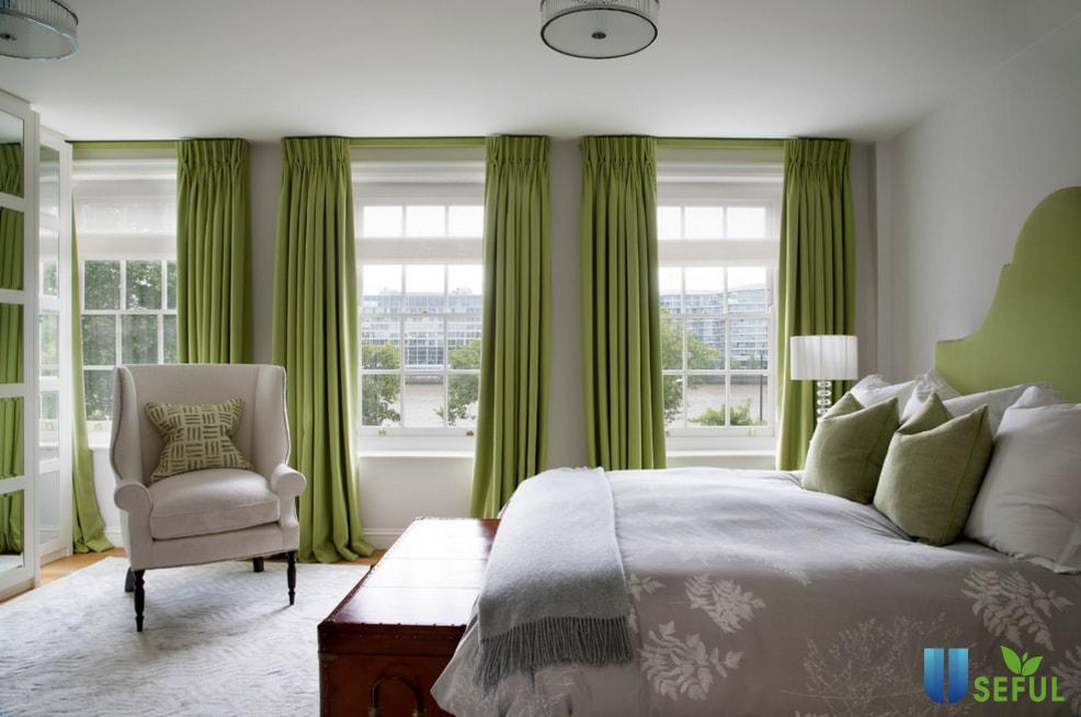 Nếu bạn biết cách thiết kế thì rèm cửa sẽ không còn là phụ kiện che ánh sáng cho căn phòng của mình