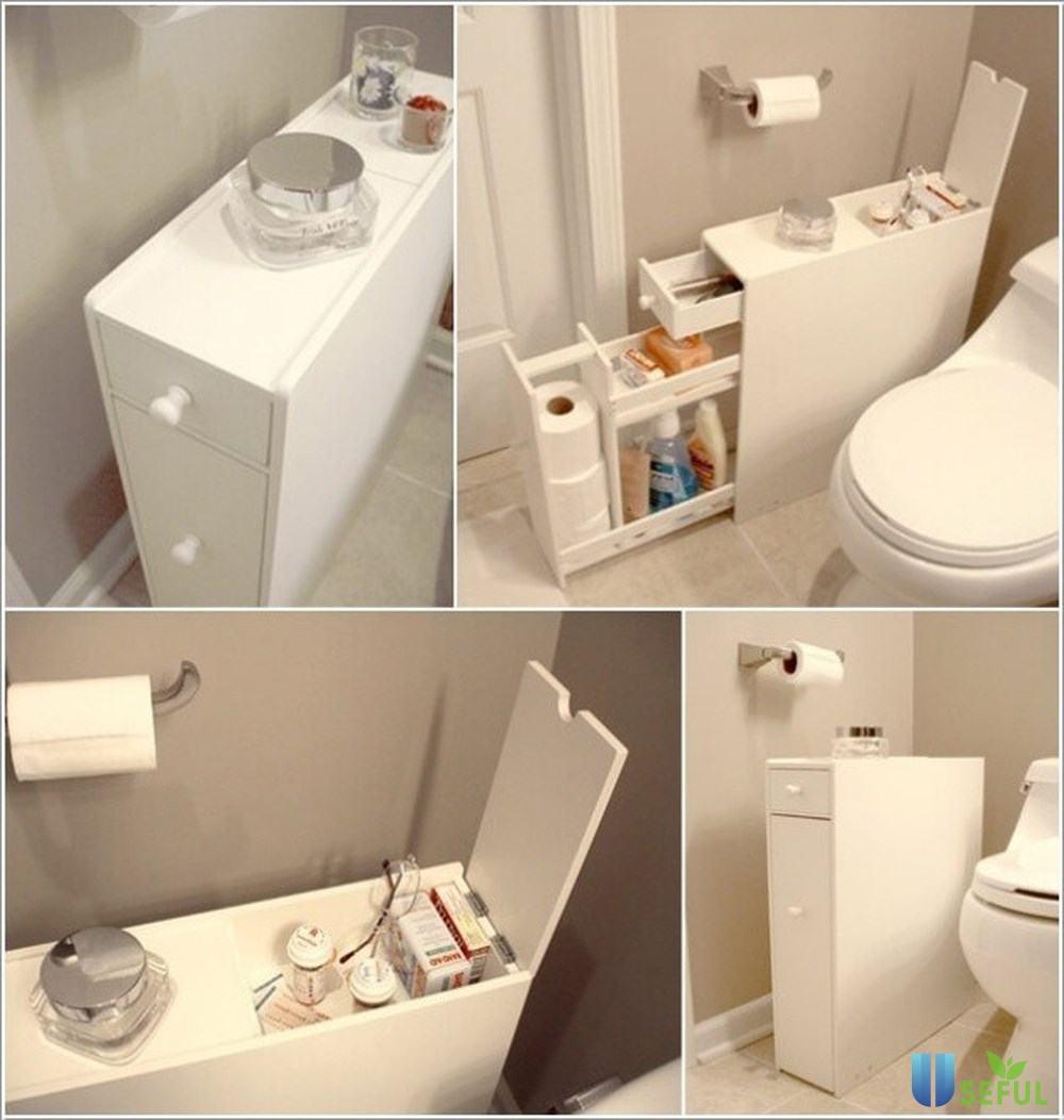 Sử dụng nội thất đa năng trong thiết kế Toilet