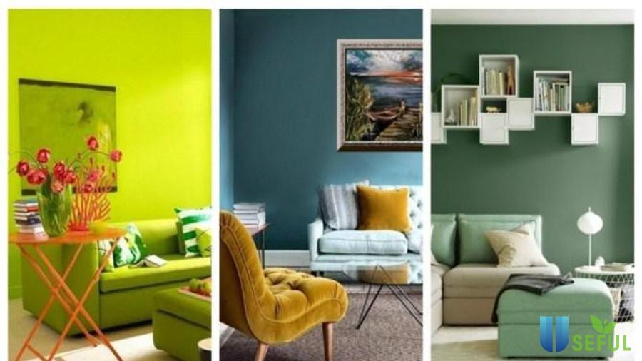 Truyền sự sống tươi mới cho phòng khách nhà bạn với gam màu xanh ...