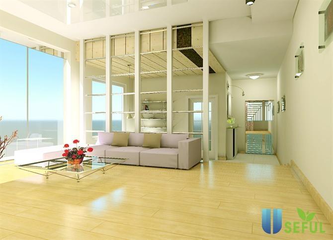 Thiết kế không gian cho phòng khách mở