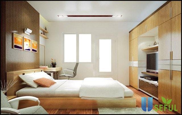 Thiết kế nội thất phòng ngủ 15m2 tiện nghi và đẹp đến khó cưỡng