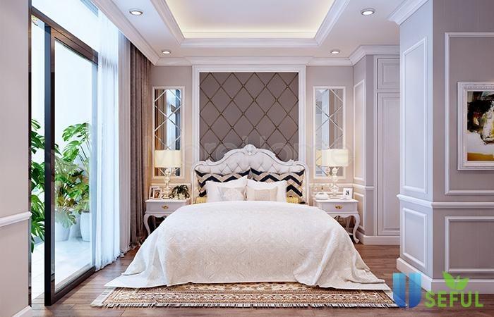 16+ mẫu nội thất phòng ngủ không thể bỏ qua theo phong cách tân cổ ...