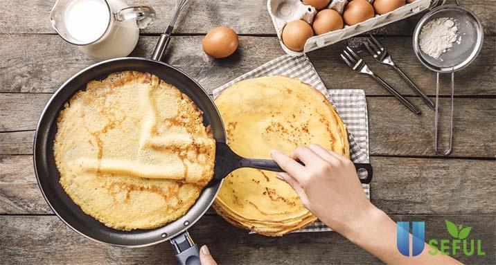 10 nguyên liệu làm bánh crepe sầu riêng Không Thể Thiếu