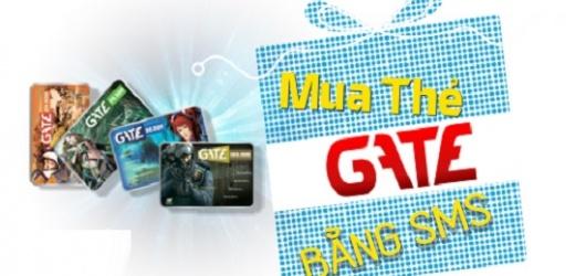 9 cách mua thẻ Gate bằng SMS Viettel, Vina, Mobi và MOMO, iPay giá rẻ