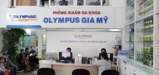 Review Phòng khám Đa khoa Olympus Gia Mỹ