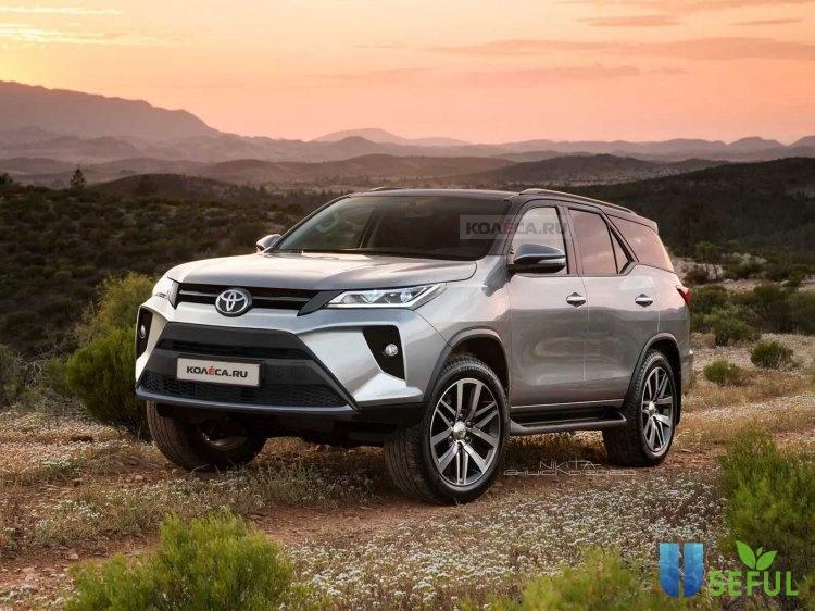 Toyota Fortuner 2021 sắp ra mắt vào ngày 4/6 có gì đặc biệt?