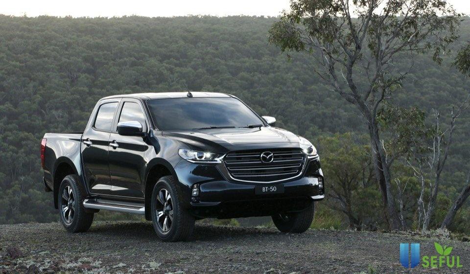 All New Mazda BT 50 2020 ra mắt, mang thiết kế của sedan lên xe bán tải - CafeAuto.Vn