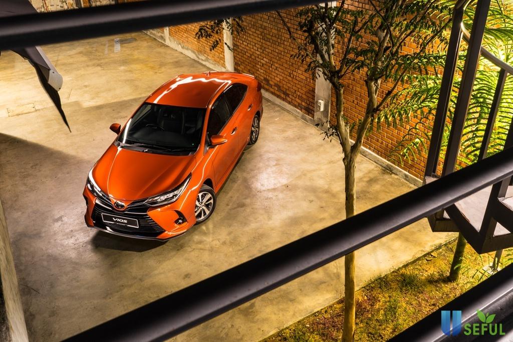 Toyota Vios 2021 tại Malaysia được nâng cấp thiết kế và công nghệ