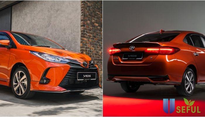 Toyota Vios 2021 chính thức trình làng: Giá bán chỉ 408 triệu, ngoại hình đẹp như xe sang