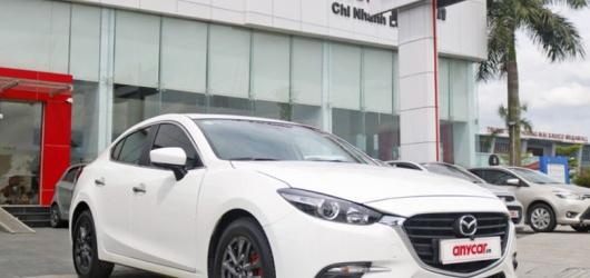 Tư vấn khi mua Mazda 3 2018 cũ kèm giá bán tháng 1 2021