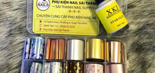 Địa chỉ mua sỉ đồ nail nổi tiếng tại Sài Gòn