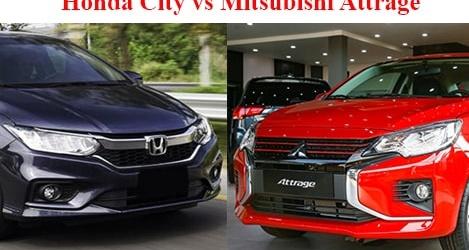 Honda City 2021 và Mitsubishi Attrage 2021: Bạn chọn xe Nhật nào?