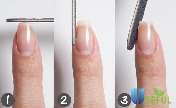 Các bước chăm sóc móng tay chắc khỏe